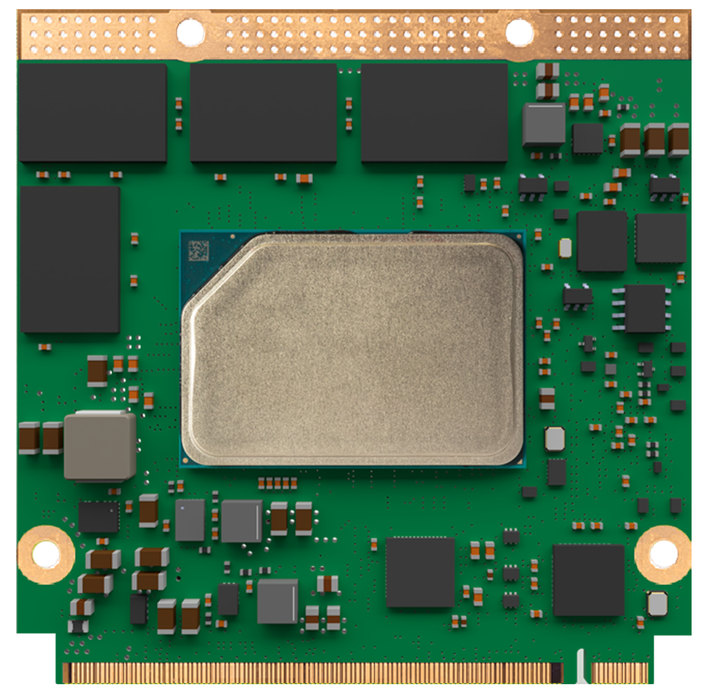 conga-QA7 Qseven module with Intel Atom x6000e processor
