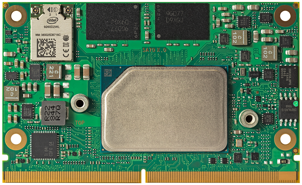conga-SA7 SMARC 2.1 module with Intel Atom x6000E processor