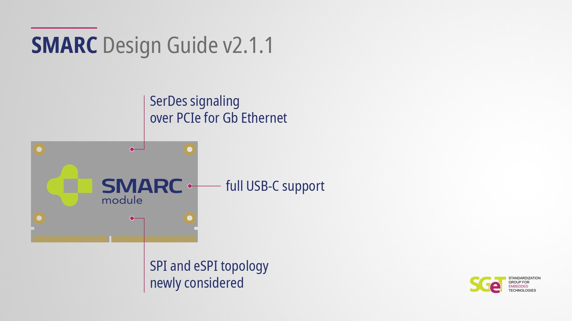 SMARC Design Guide v2.1.1 released